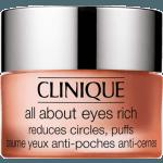Clinique Hidratante Contorno Ojos para Bolsas y Ojeras All About Eyes Rich