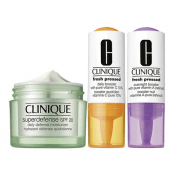 Clinique Estuche Superdefense Hidratante + Potenciador Vitamina C