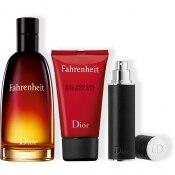 DIOR Fahrenheit Cofre perfume - eau de toilette<br> Vaporizador de viaje y gel de ducha