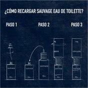 DIOR SAUVAGE<br> Recarga Eau de Toilette