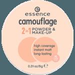 Essence Maquillaje y polvos camouflage 2en1